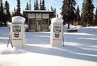 Matanuska, Alaska, U.S.A, January 1989. A sudden cold wave struck Alaska resulting to the temperature falling under 50 degrees Centigrade (58 degrees Fahrenheit).