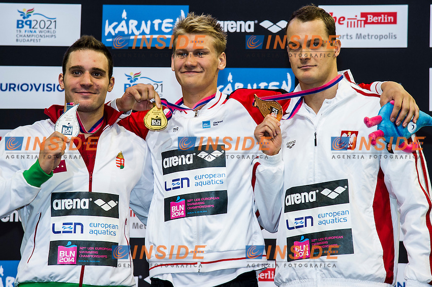 BICZO Bence HUN  Silver Medal<br />
