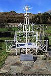 Irish potato famine memorial at Abbeystrewry cemetery, Skibbereen, County Cork, Ireland, Irish Republic