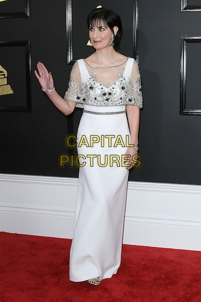 12 February 2017 - Los Angeles, California - Enya. 59th Annual GRAMMY Awards held at the Staples Center. <br /> CAP/ADM<br /> &copy;ADM/Capital Pictures
