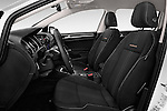 Front seat view of 2015 Volkswagen Golf Alltrack 5 Door Wagon Front Seat  car photos
