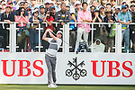 Paul Peterson of USA tees off the first hole during the 58th UBS Hong Kong Golf Open as part of the European Tour on 10 December 2016, at the Hong Kong Golf Club, Fanling, Hong Kong, China. Photo by Marcio Rodrigo Machado / Power Sport Images