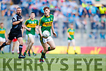 Brian Friel Kerry in action against  Derry in the All-Ireland Minor Footballl Final in Croke Park on Sunday.