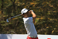 Jeunghun Wang (KOR) in action on the 11th during Round 3 of the Hero Indian Open at the DLF Golf and Country Club on Saturday 10th March 2018.<br /> Picture:  Thos Caffrey / www.golffile.ie<br /> <br /> All photo usage must carry mandatory copyright credit (&copy; Golffile | Thos Caffrey)
