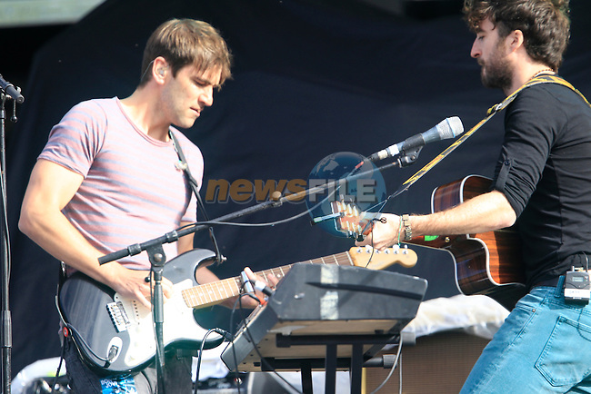 The Corona's on stage<br /> during the Bon Jovi Concert at Slane Castle  15/6/13<br /> Picture:  Thos Caffrey / www.newsfile.ie