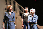 """Guiding Light Orlagh Cassidy, Mirirai Sithole, Kitty Chen and Caitlin Cisco star in play as The Cell presents Origin Theatre Company with the North American Premiere of """"The Hundred We Are""""  at the dress rehearsal on March 16, 2016 through April 8 at the Cell Theatre on 23rd St, New York City, New York. (Photo by Sue Coflin/Max Photos)"""