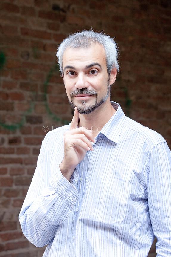 Marco Malvaldi. italian writer. Mantova, 2011.  © Leonardo Cendamo