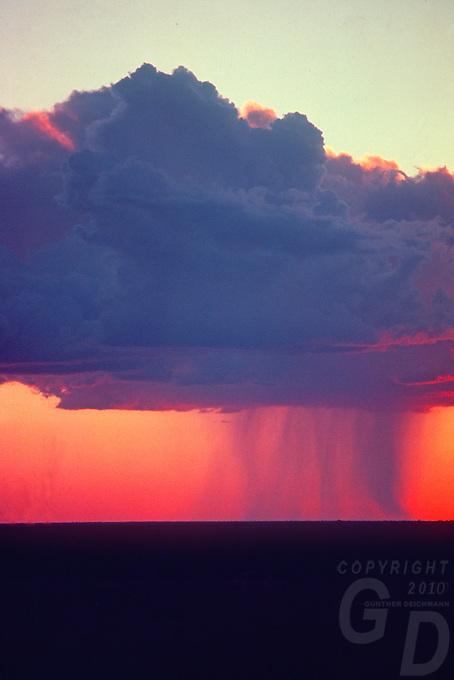 Dramatic Rain Clouds in the Desert, Northern Territory Australia
