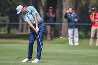 Ross Fisher (ENG) hits his second shot on 10 during round 2 of the World Golf Championships, Mexico, Club De Golf Chapultepec, Mexico City, Mexico. 3/2/2018.<br /> Picture: Golffile | Ken Murray<br /> <br /> <br /> All photo usage must carry mandatory copyright credit (&copy; Golffile | Ken Murray)