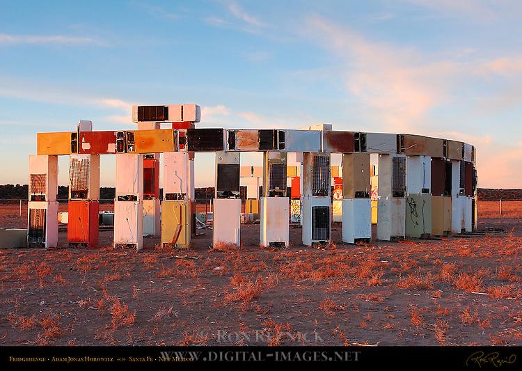 Fridgehenge, Stonefridge, Adam Jonas Horowitz, Santa Fe, New Mexico