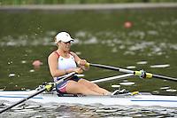 Amsterdam, NETHERLAND, USA BW1X. Alycia DA LOIA-MOORE. 2011 FISA U23 World Rowing Championships, Thursday, 21/07/2011 [Mandatory credit:  Intersport Images].