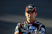Apr 17, 2009; Avondale, AZ, USA; NASCAR Sprint Cup Series driver Jeff Gordon during qualifying for the Subway Fresh Fit 500 at Phoenix International Raceway. Mandatory Credit: Mark J. Rebilas-