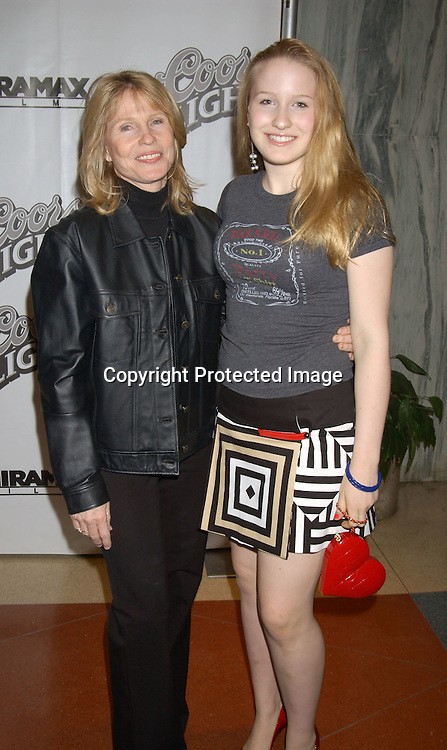 "..Donna Hanover and daughter Caroline Giuliani..at the New York Premiere of ""Duplex"" on September 18,2003 at The Beekman Theatre. Photo By Robin Platzer, Twin Images"