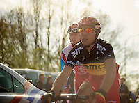 De Ronde van Vlaanderen 2012..Philippe Gilbert post-race