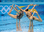Olympic Games 2012; Synchronised Swimming - Aquatics Centre-Teams Free Routine Final (RUS).