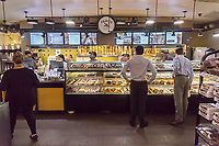 A Zaro's bakery store in Grand Central Terminal in New York on Thursday, June 8, 2017. The bakery, founded in the Bronx recently celebrated 40 years serving commuters in Grand Central Terminal. Zaro's is a family-owned company founded in the Bronx in New York in 1927. (©Richard B. Levine)