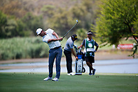 Lucas Bjerregaard (DEN) during the 3rd round at the Nedbank Golf Challenge hosted by Gary Player,  Gary Player country Club, Sun City, Rustenburg, South Africa. 10/11/2018 <br /> Picture: Golffile | Tyrone Winfield<br /> <br /> <br /> All photo usage must carry mandatory copyright credit (&copy; Golffile | Tyrone Winfield)