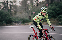 Mads PEDERSEN (DEN/Trek-Segafredo)<br /> <br /> Team Trek-Segafredo men's team<br /> training camp<br /> Mallorca, january 2019<br /> <br /> &copy;kramon