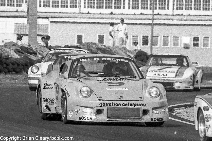 #9 Porsche 934 of Wayne Baker, Kees Nierop, and Jim Mullen (1st place, winner) 12 Hours or Sebring, Sebring International Raceway, Sebring, FL, March 19, 1983.  (Photo by Brian Cleary/bcpix.com)