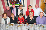 New Year's At Mai Fit's : Ringing in the New Year at Mai Fitz'z Restaurant, Listowel were in front :Noreen Carmody, Collette Walsh, Eileen Quinn, Anna & Mike  Deegan. Back : Pat Walsh, Pat, Joan & Ann & Stevie Carmody .