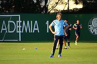 SAO PAULO, SP, 12.08.2014 - TREINO DO PALMEIRAS - Ricardo Gareca tecnico do Palmeiras durante o treino na Academia de Futebol na zona oeste nesta terça feira 12  (Foto: Bruno Ulivieri - Brazil Photo Press).
