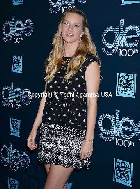 Heather Morris    at the GLEE 100th Episode at the Chateau Marmont in Los Angeles.
