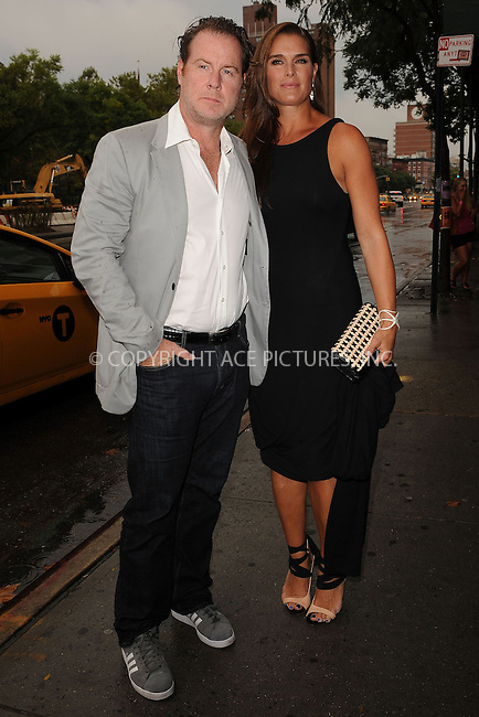 WWW.ACEPIXS.COM . . . . . .September 4, 2012...New York City....Chris Henchy and Brooke Shields attend the 'Bachelorette' New York Premiere at Landmark's Sunshine Cinema on September 4, 2012 in New York City ....Please byline: KRISTIN CALLAHAN - ACEPIXS.COM.. . . . . . ..Ace Pictures, Inc: ..tel: (212) 243 8787 or (646) 769 0430..e-mail: info@acepixs.com..web: http://www.acepixs.com .