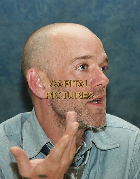 MICHAEL STIPE.headshot, portrait, stubble, facial hair.www.capitalpictures.com.sales@capitalpictures.com.© Capital Pictures.