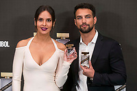 Tv host Cristina Pedroche and actor Jesus Castro attends to presentation their new fragrance 'Sex Symbol' in Madrid, Spain. October 26, 2017. (ALTERPHOTOS/Borja B.Hojas) /NortePhoto.com