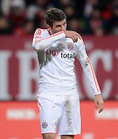 FUSSBALL   1. BUNDESLIGA  SAISON 2012/2013   12. Spieltag 1. FC Nuernberg - FC Bayern Muenchen      17.11.2012 Thomas Mueller (FC Bayern Muenchen)
