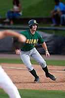 Siena Saints first baseman Nick Duarte (33) leads off first base during a game against the UCF Knights on February 21, 2016 at Jay Bergman Field in Orlando, Florida.  UCF defeated Siena 11-2.  (Mike Janes/Four Seam Images)