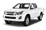 2019 Isuzu D-Max LS 2 Door Pick-up Angular Front stock photos of front three quarter view