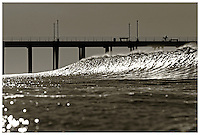 Offshore Winds At The Huntington Beach Pier