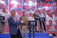 """Alessandro greco durante il photocall di presentazione del nuovo quiz rai """" Zero e Lode"""