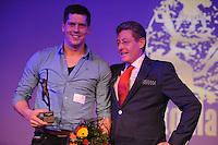 SPORT ALGEMEEN: HEERENVEEN: Trinitas, 18-02-2015, Sportgala Fryslân, Bart Helmholt, Jillert Anema, ©foto Martin de Jong