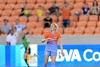Houston, TX - Saturday July 30, 2016: Denise O'Sullivan during a regular season National Women's Soccer League (NWSL) match between the Houston Dash and the Western New York Flash at BBVA Compass Stadium.
