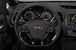 Car pictures of steering wheel view of a 2017 KIA Forte5 SX 5 Door Hatchback Steering Wheel
