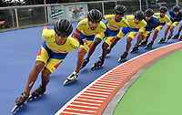 HEERDE - NETHERLANDS: 29-07-2018: Equipo de Colombia, durante entreno en el patinodromo Skeelereclub Oost Velluwe en la ciudad de Heerde en Holanda. / Equipo de Colombia, during a training at the skating rink Skeelereclub Oost Velluwe in the city of Heerde in Netherlans. / Photo: VizzorImage / Luis Ramirez / Staff.
