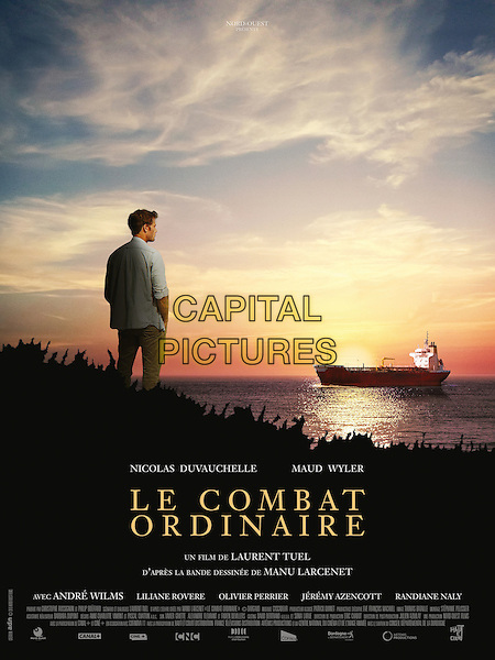 POSTER ART<br /> in Le combat ordinaire (2015) <br /> *Filmstill - Editorial Use Only*<br /> CAP/NFS<br /> Image supplied by Capital Pictures