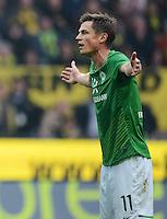FUSSBALL   1. BUNDESLIGA   SAISON 2011/2012   26. SPIELTAG Borussia Dortmund - SV Werder Bremen               17.03.2012 Markus Rosenberg (SV Werder Bremen) ist enttaeuscht