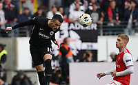 Filip Kostic (Eintracht Frankfurt) gegen Emile Smith Rowe (Arsenal London) - 19.09.2019:  Eintracht Frankfurt vs. Arsenal London, UEFA Europa League, Gruppenphase, Commerzbank Arena<br /> DISCLAIMER: DFL regulations prohibit any use of photographs as image sequences and/or quasi-video.