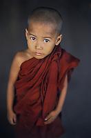 Monk in rangoon, 2005