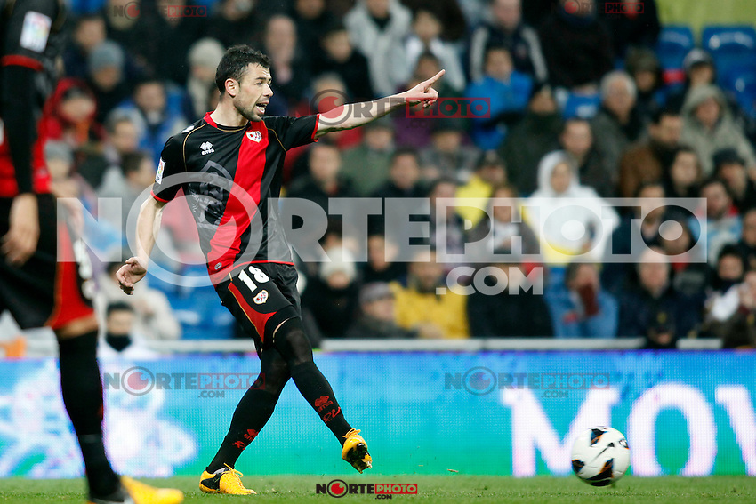 Real Madrid vs Rayo Vallecano during La Liga Match, in the pic: Javier Fuego. February 17, 2013. (ALTERPHOTOS/Caro Marin) /NortePhoto
