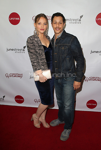 "LOS ANGELES, CA - NOVEMBER 7: David Del Rio, Guest, at Premiere of Lifetime's ""Christmas Harmony"" at Harmony Gold Theatre in Los Angeles, California on November 7, 2018. Credit: Faye Sadou/MediaPunch"