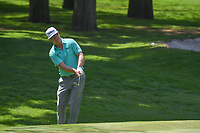 Charley Hoffman (USA) chips on to 1 during round 3 of the World Golf Championships, Mexico, Club De Golf Chapultepec, Mexico City, Mexico. 3/3/2018.<br /> Picture: Golffile | Ken Murray<br /> <br /> <br /> All photo usage must carry mandatory copyright credit (&copy; Golffile | Ken Murray)