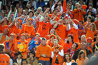 6-4-07, England, Birmingham, Tennis, Daviscup England-Netherlands, Dutch Supporters