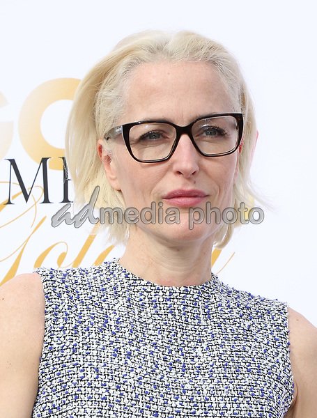 06 January 2018 - Los Angeles, California - Gillian Anderson. 2018 Gold Meets Golden held at The Sunset House. Photo Credit: PMA/AdMedia