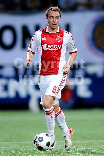 ALMELO - Voetbal, Heracles - Ajax , Polmanstadion, Eredivisie, seizoen 2011-2012, 10-09-2011 Ajax speler Christian Eriksen.