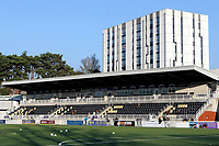 General view of the Main Stand at Maidstone United FC during Maidstone United vs Wrexham, Vanarama National League Football at the Gallagher Stadium on 17th November 2018
