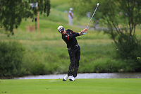 Simon Dyson (ENG) on the 1st fairway during Round 2 of the 100th Open de France, played at Le Golf National, Guyancourt, Paris, France. 01/07/2016. <br /> Picture: Thos Caffrey | Golffile<br /> <br /> All photos usage must carry mandatory copyright credit   (&copy; Golffile | Thos Caffrey)